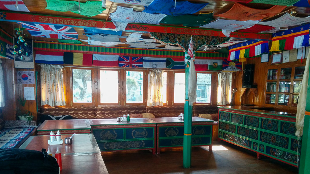 Lodge in Everest Region
