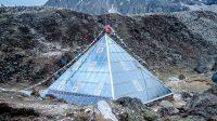 Ev-K2-CNR or The Pyramid (research center) at Lobuche