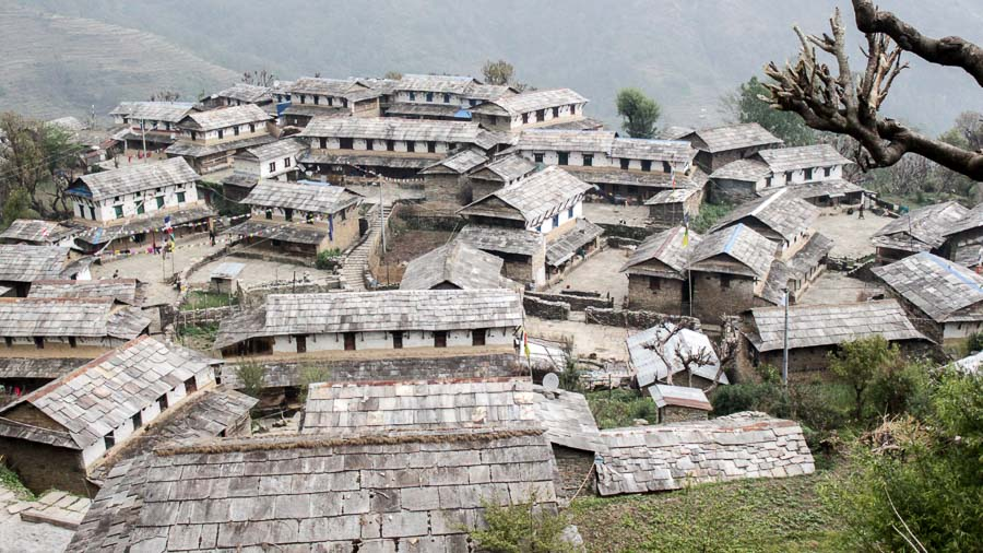 Ghandruk Village on the way to Annapurna Base Camp