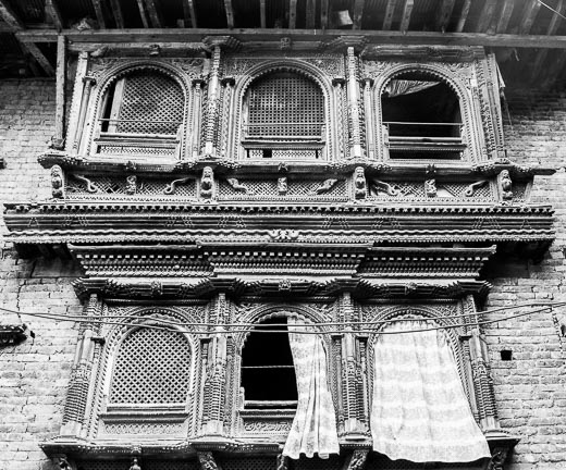 Traditional window Tikejhya Panauti