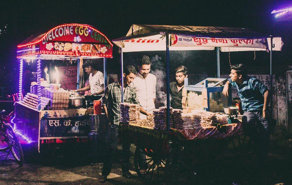 Street food of West Nepal