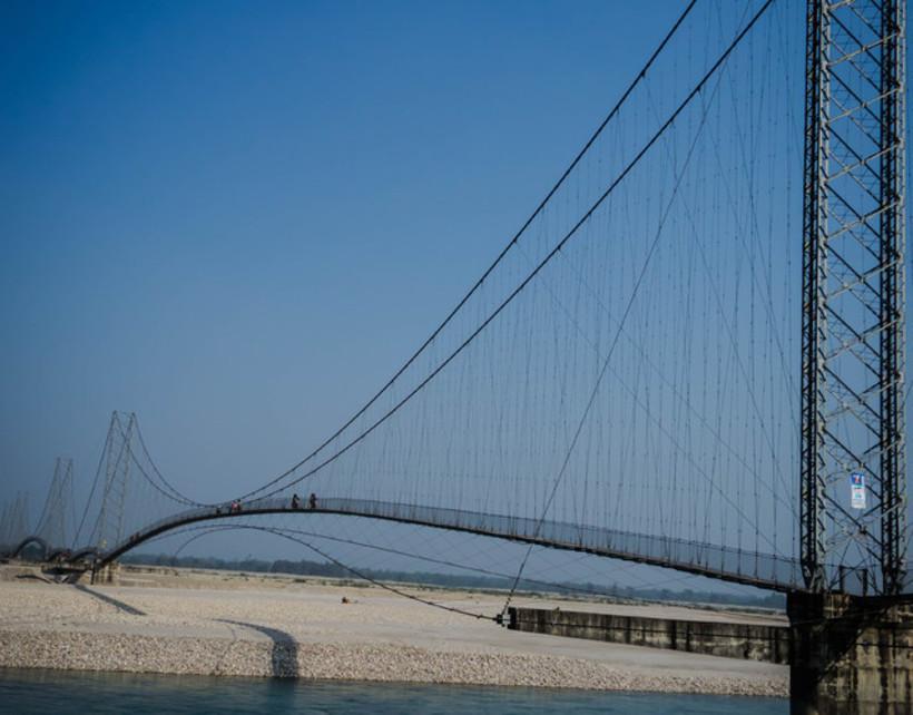 Dodhara Chadani Bridge. Far West Nepal