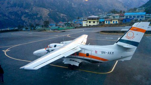 Changes in Lukla Flight