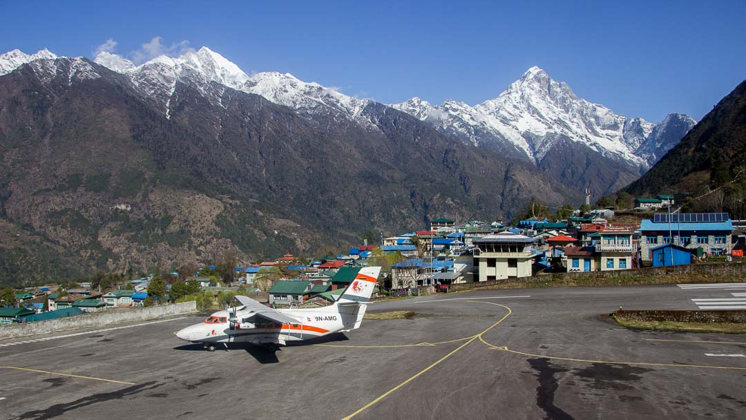 Flight to Lukla