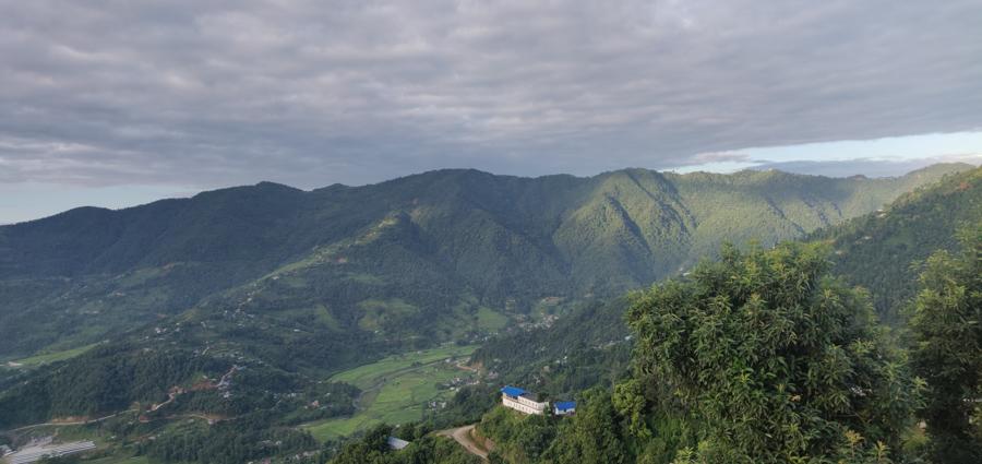 Hilly Outskirts of Pokhara