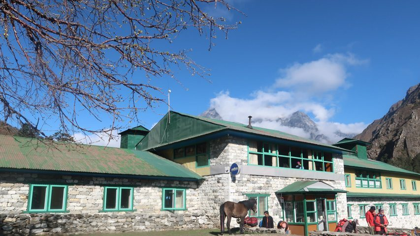 Rivendell Lodge in Deboche.