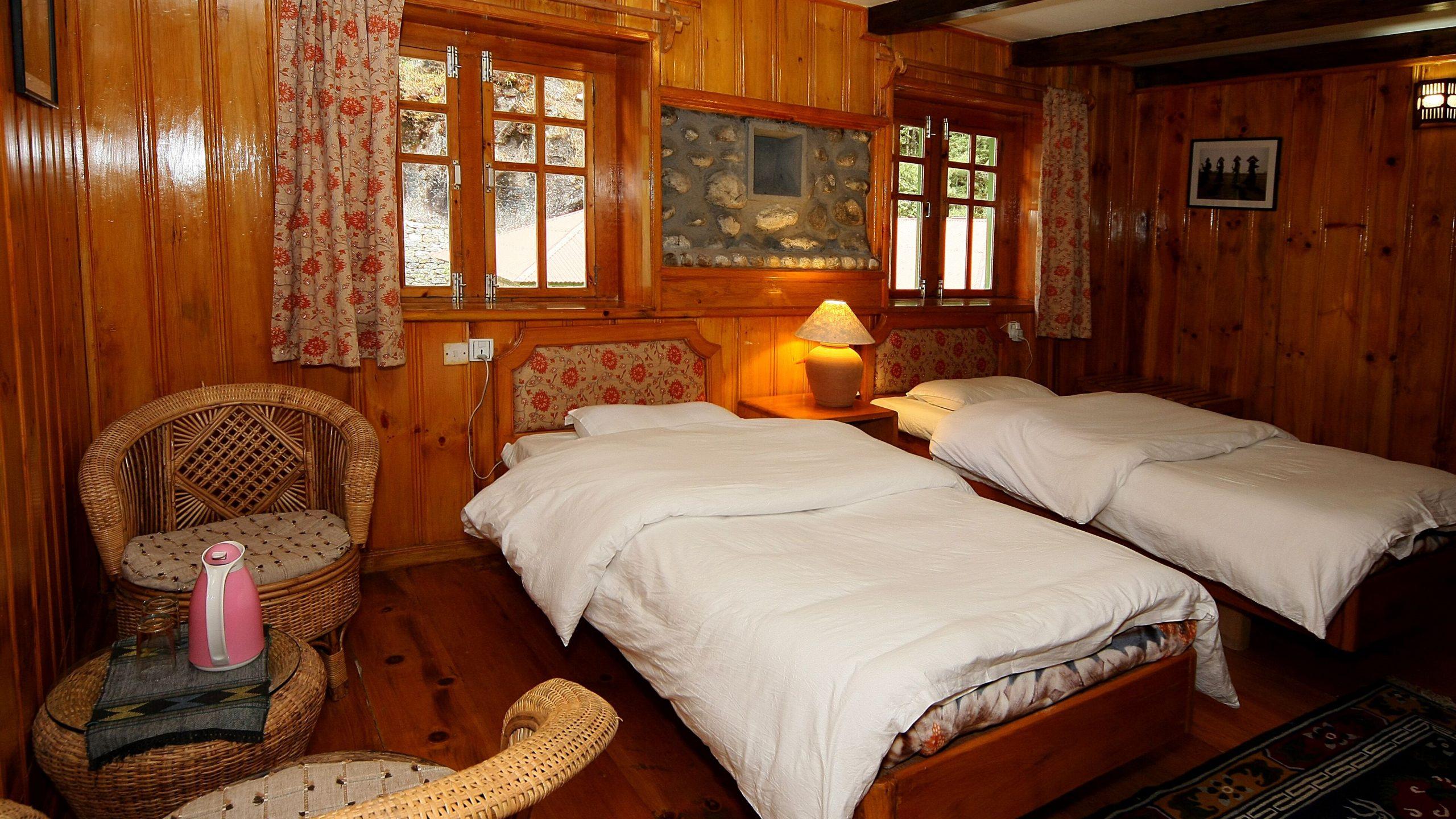 Room in Yeti Mountain Home, Namche Bazaar