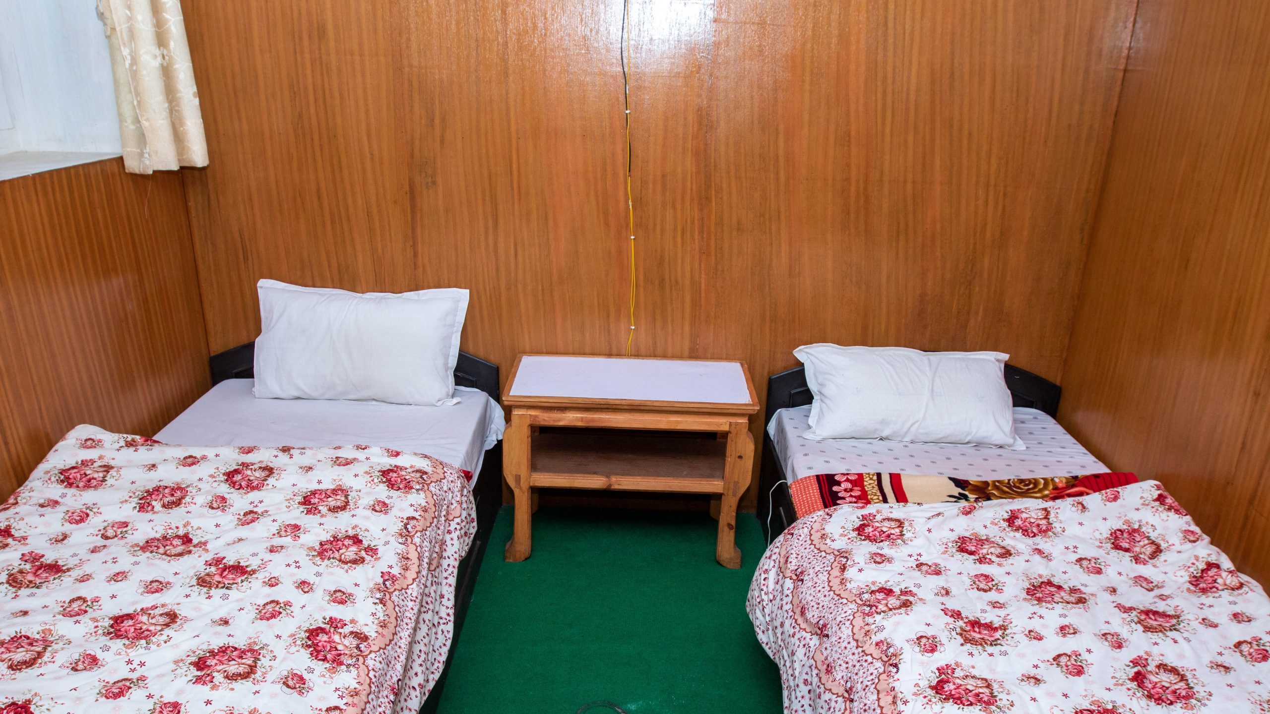 Basic Room in one of the hotels in Dingboche