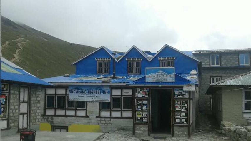 Snow Land Highest Inn, Gorakshep