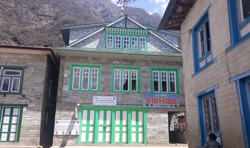 Khumbu Rural Municipality Permit Counter in Lukla