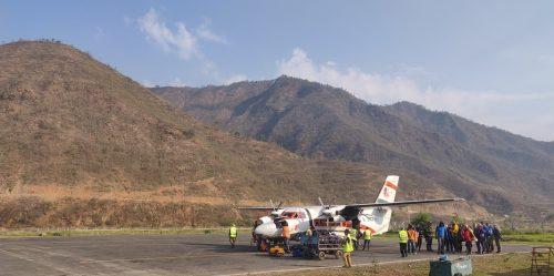 Kathmandu to Ramechhap Airpot