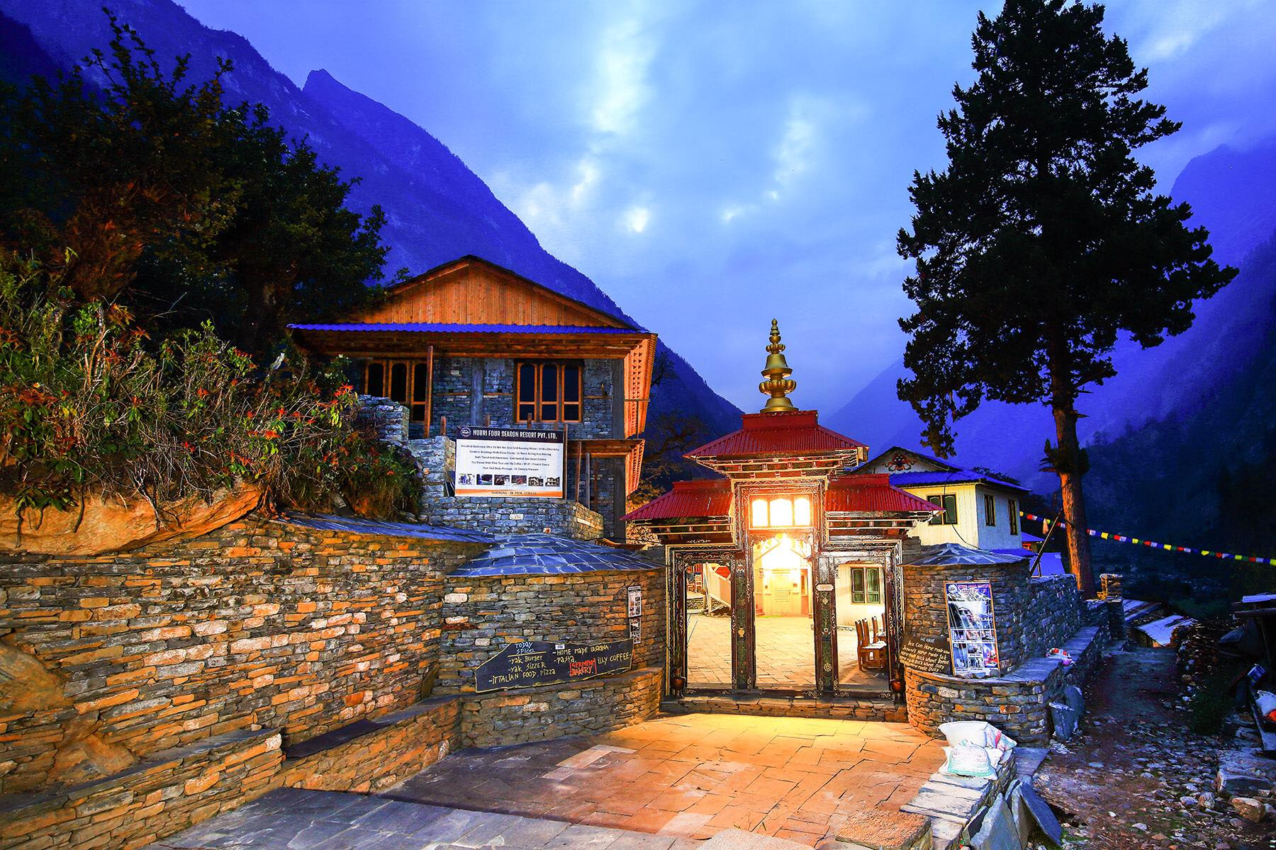 Nubri Four Season Resort, Namrung