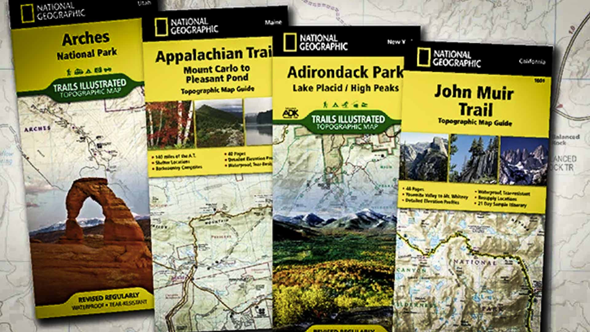 Maps by National Geographic Society