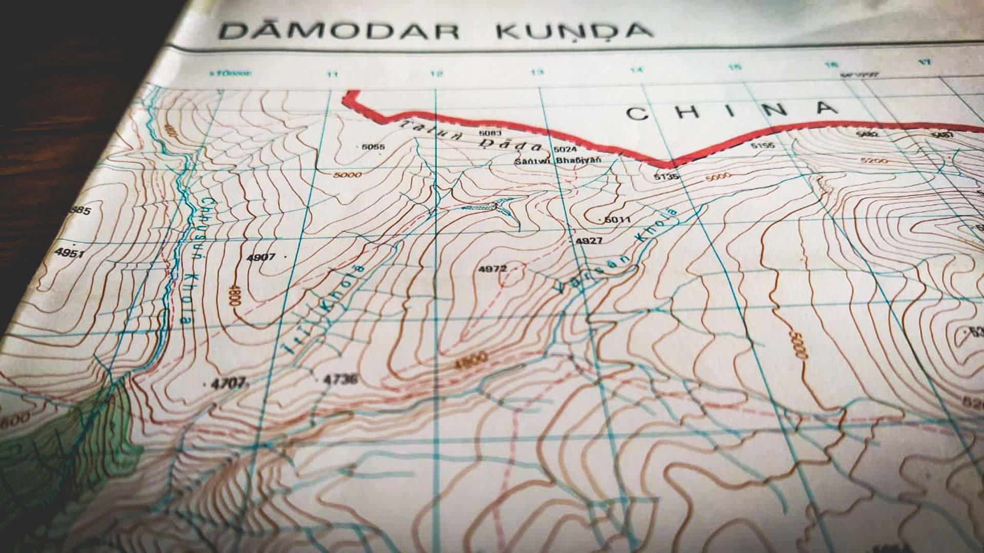 Survey Maps of Nepal