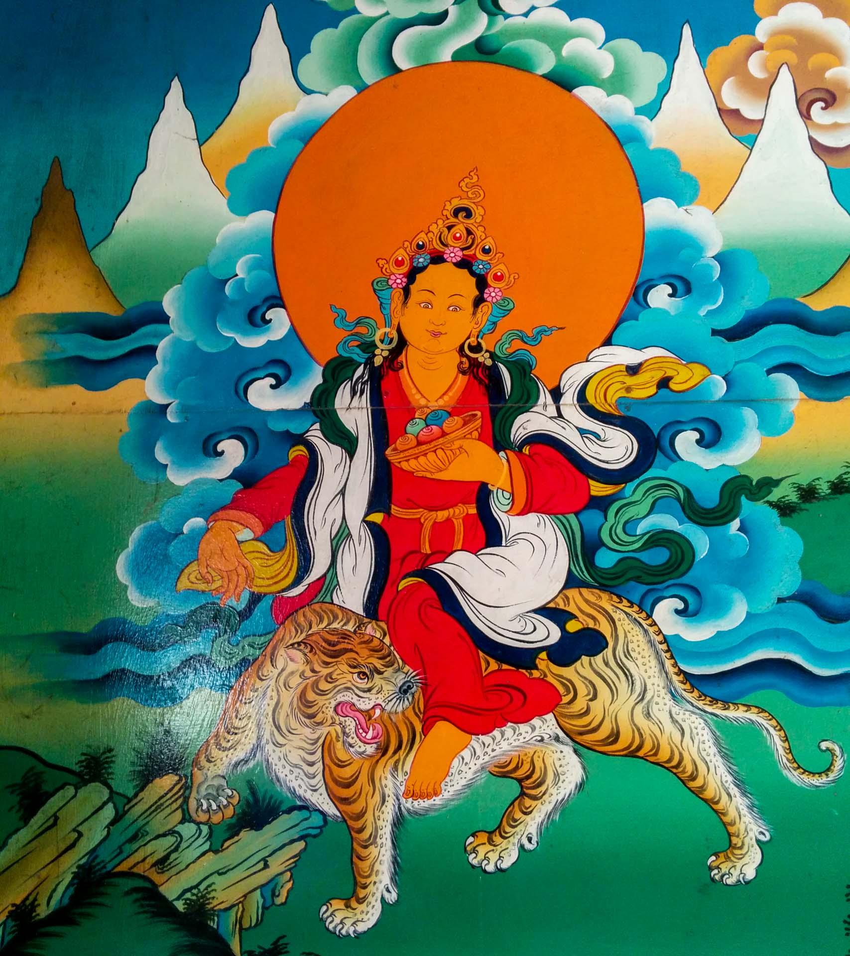 Chomolungma. Mother Goddess of the World