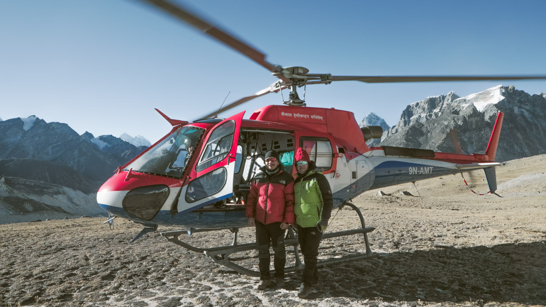 Helicopter Tour in Everest Region