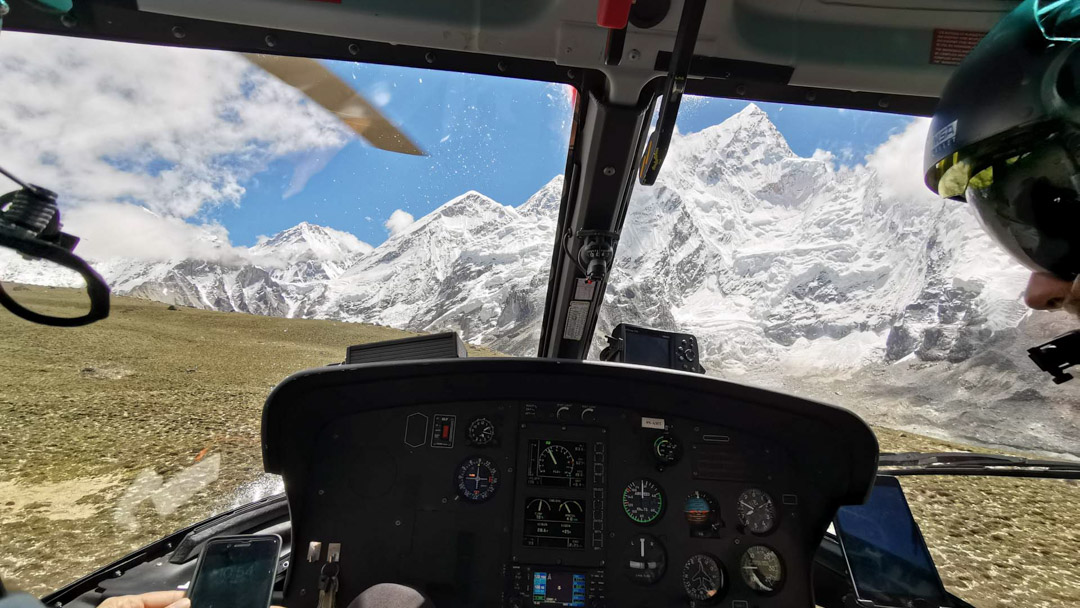 Helicopter Tour to Everest Base Camp